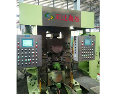 The production line of 550mm 4-roll  tension leveler unit