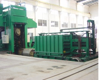 roll changing carriage