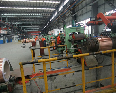 Cold rolling mill for alloy steel