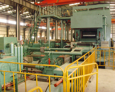 20 Hi reversible cold rolling mill