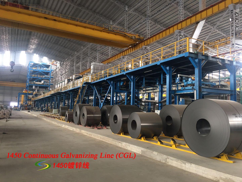 1450 galvanizing line